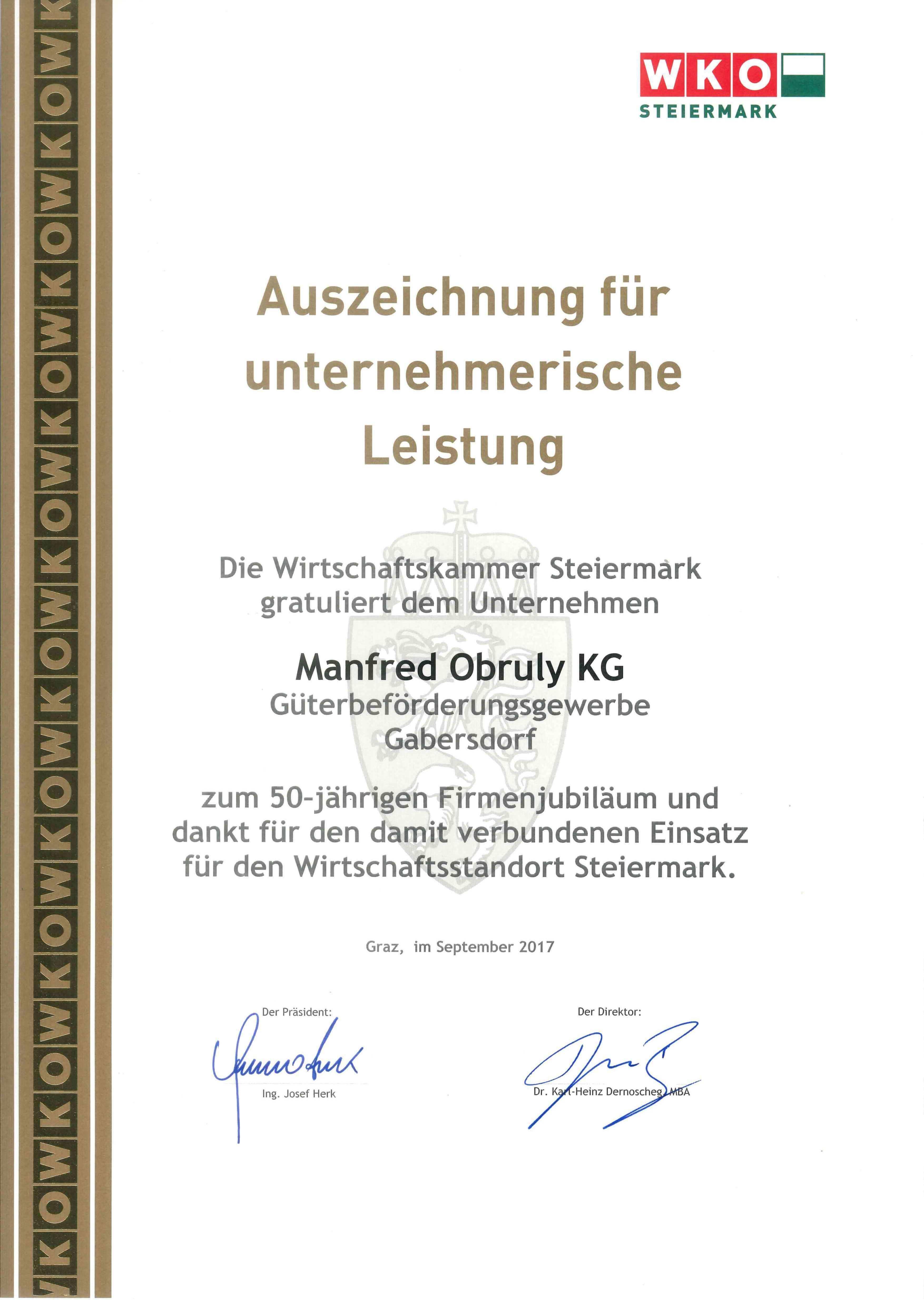 Urkunde_Firmenjubiläum